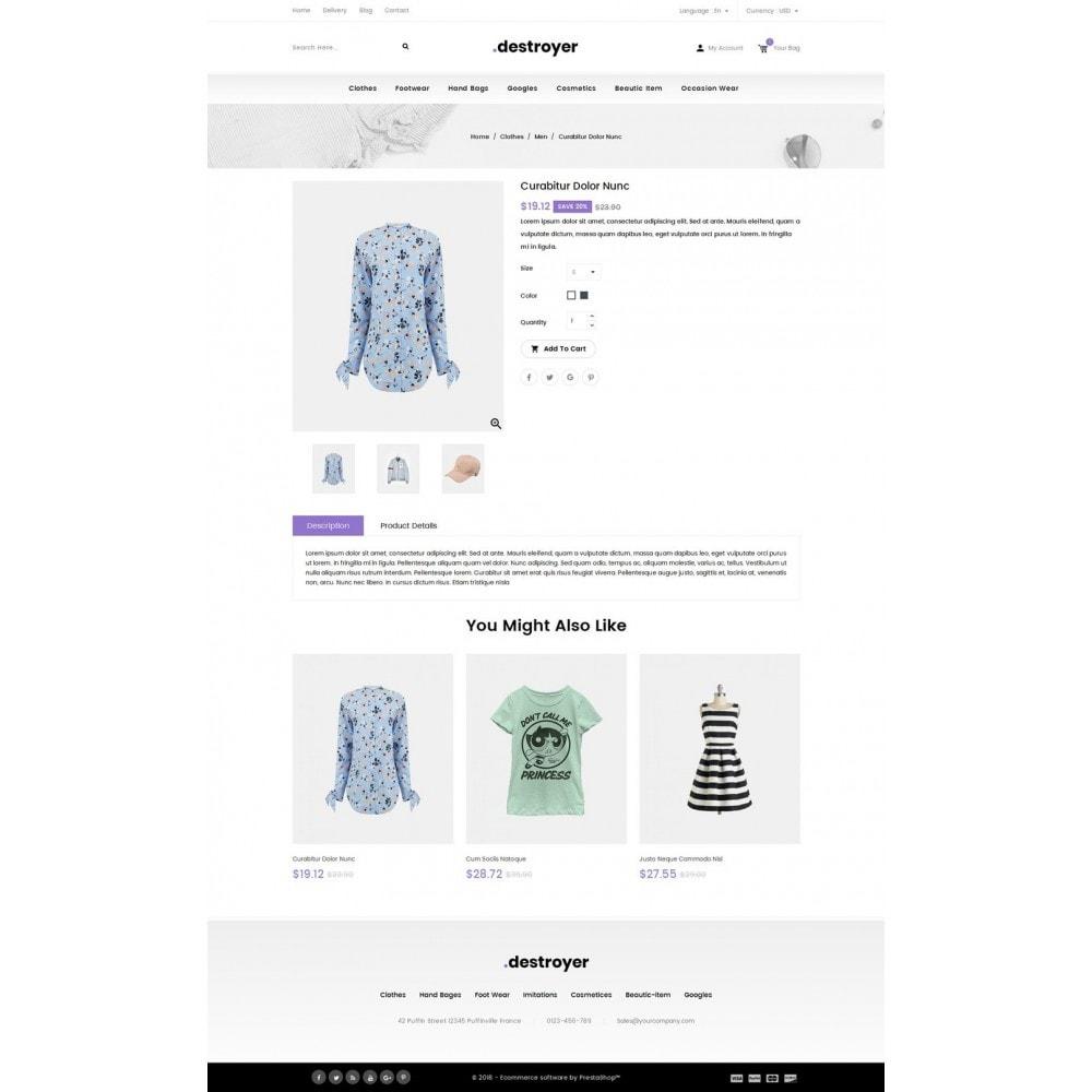 theme - Moda & Calçados - Destroyer - Fashion Store - 4