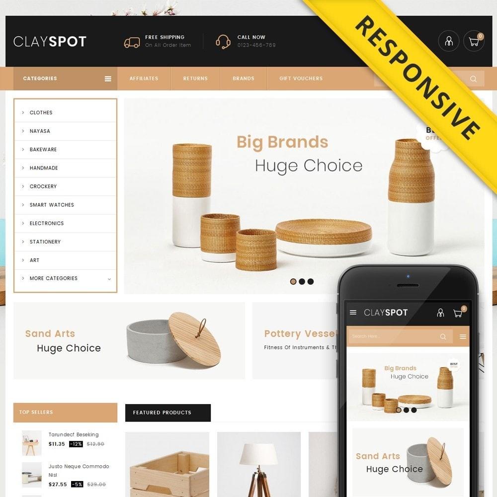 theme - Casa & Jardins - Clayspot - Wood Store - 1