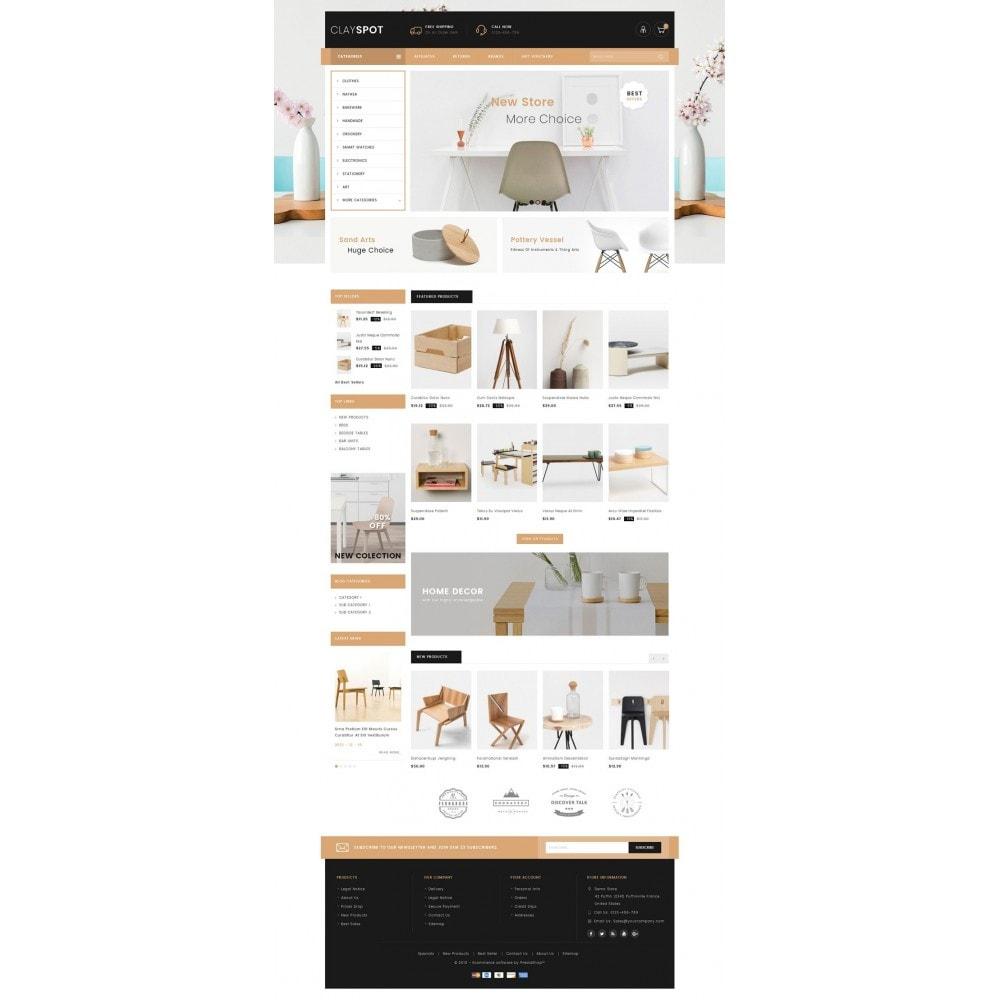 theme - Casa & Jardins - Clayspot - Wood Store - 2