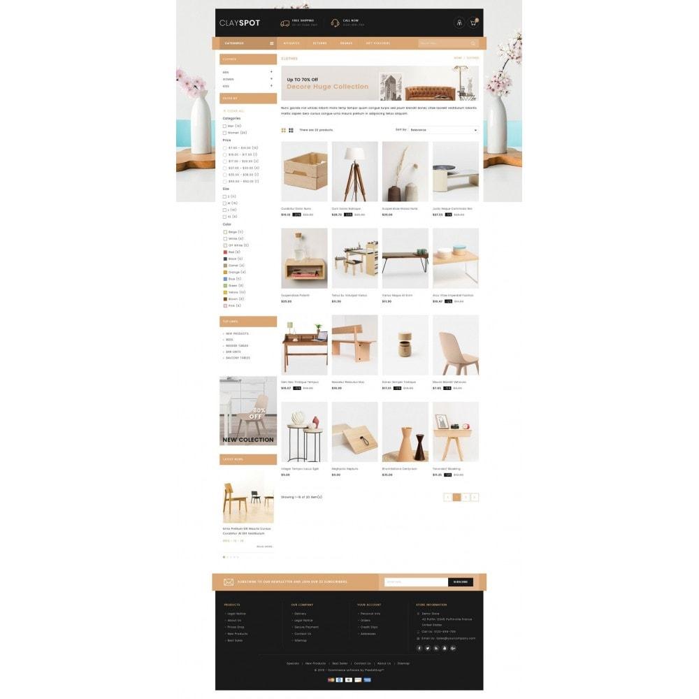 theme - Casa & Jardins - Clayspot - Wood Store - 3