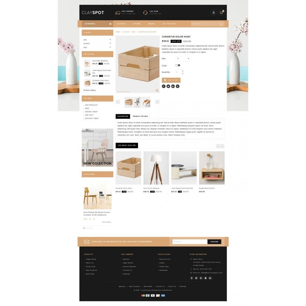 theme - Casa & Jardins - Clayspot - Wood Store - 4