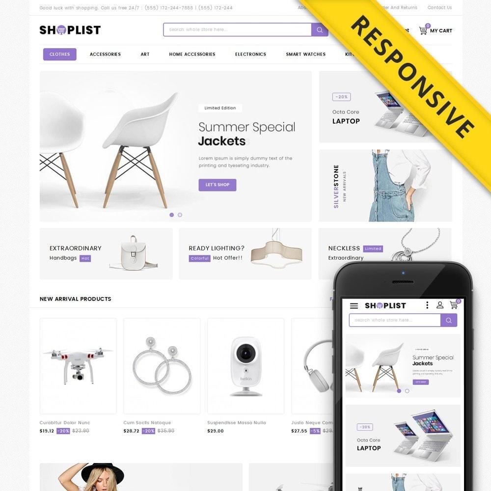 theme - Electronique & High Tech - Shoplist - Mega Store - 1