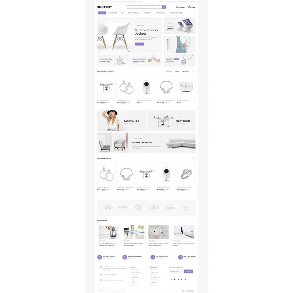 theme - Electronique & High Tech - Shoplist - Mega Store - 2