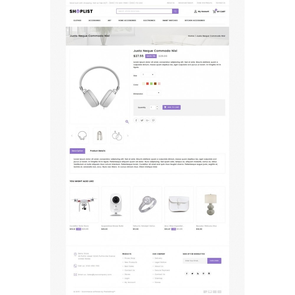 theme - Electronique & High Tech - Shoplist - Mega Store - 4