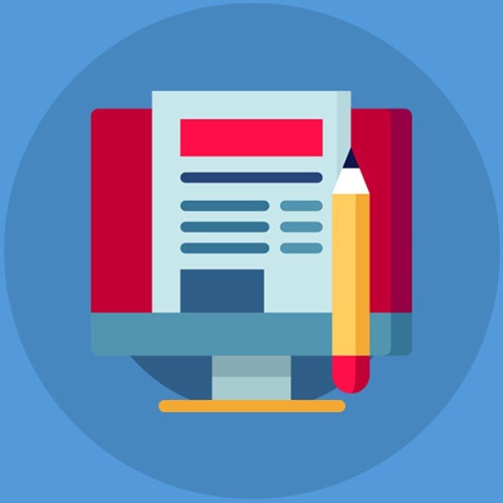 module - Blog, Forum & Actualités - Knowband - Blog - 1