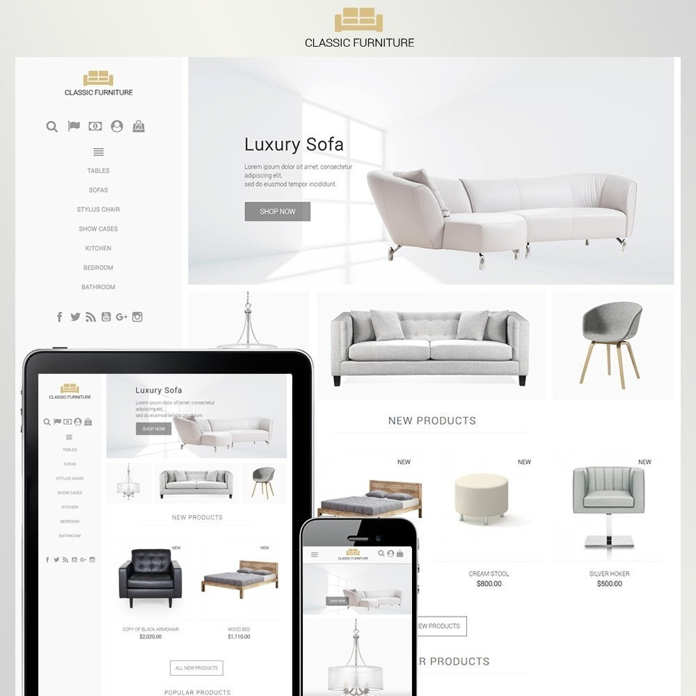 theme - Maison & Jardin - Classic Furniture - 1