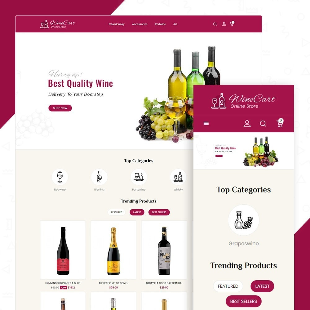 theme - Boissons & Tabac - Winecart - Online Store - 1