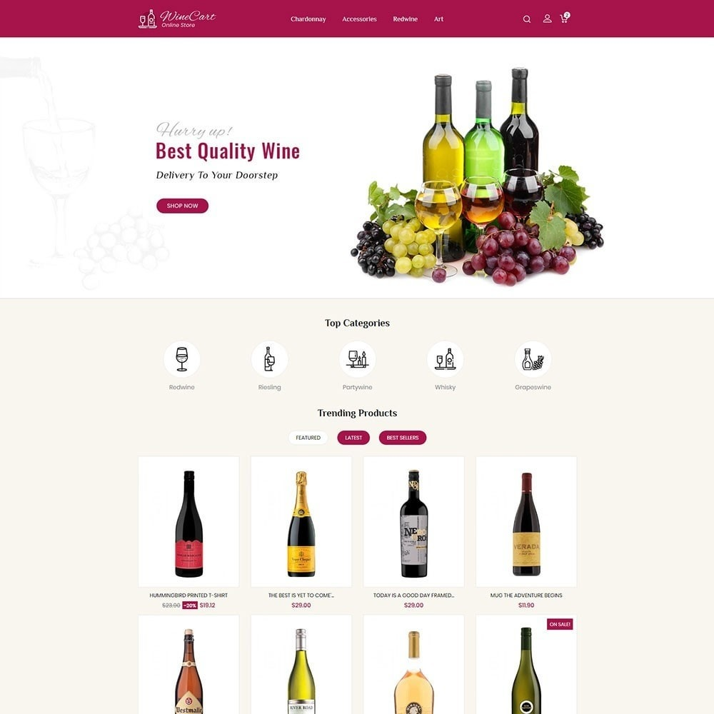 theme - Boissons & Tabac - Winecart - Online Store - 2