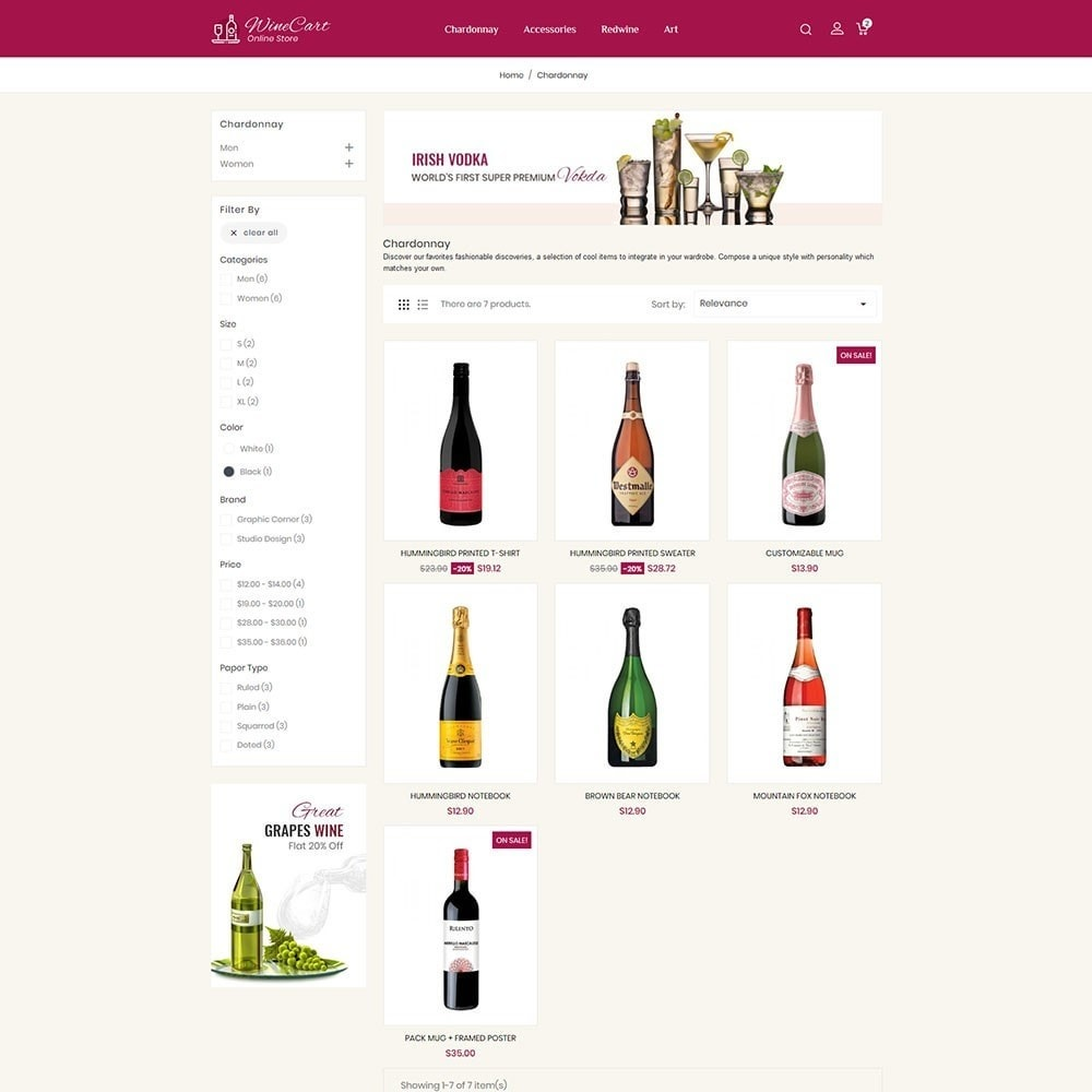 theme - Bebidas & Tabaco - Winecart - Online Store - 3