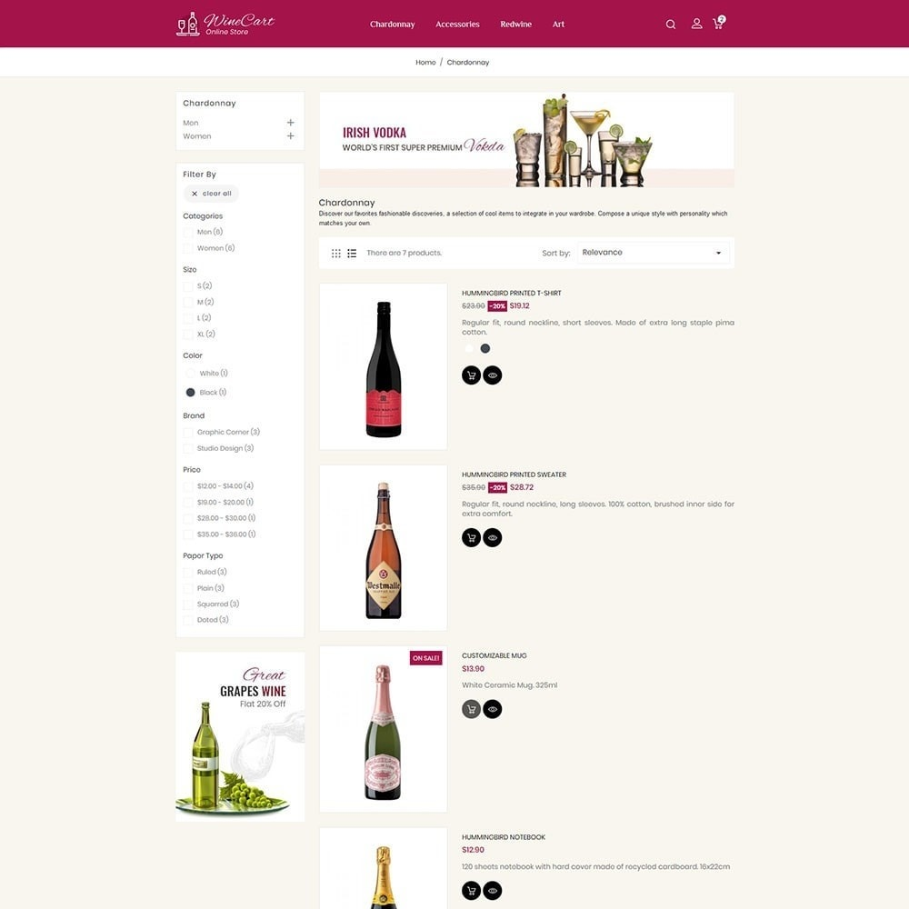 theme - Bebidas & Tabaco - Winecart - Online Store - 4