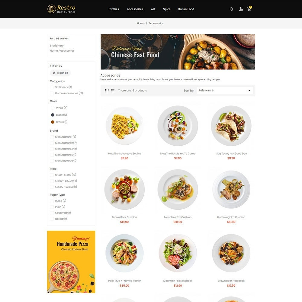 theme - Alimentos & Restaurantes - Restro Restaurant - 3