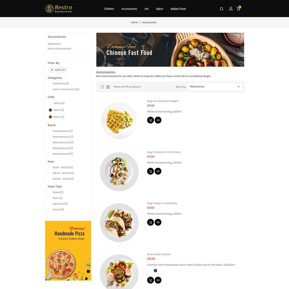 theme - Alimentos & Restaurantes - Restro Restaurant - 4