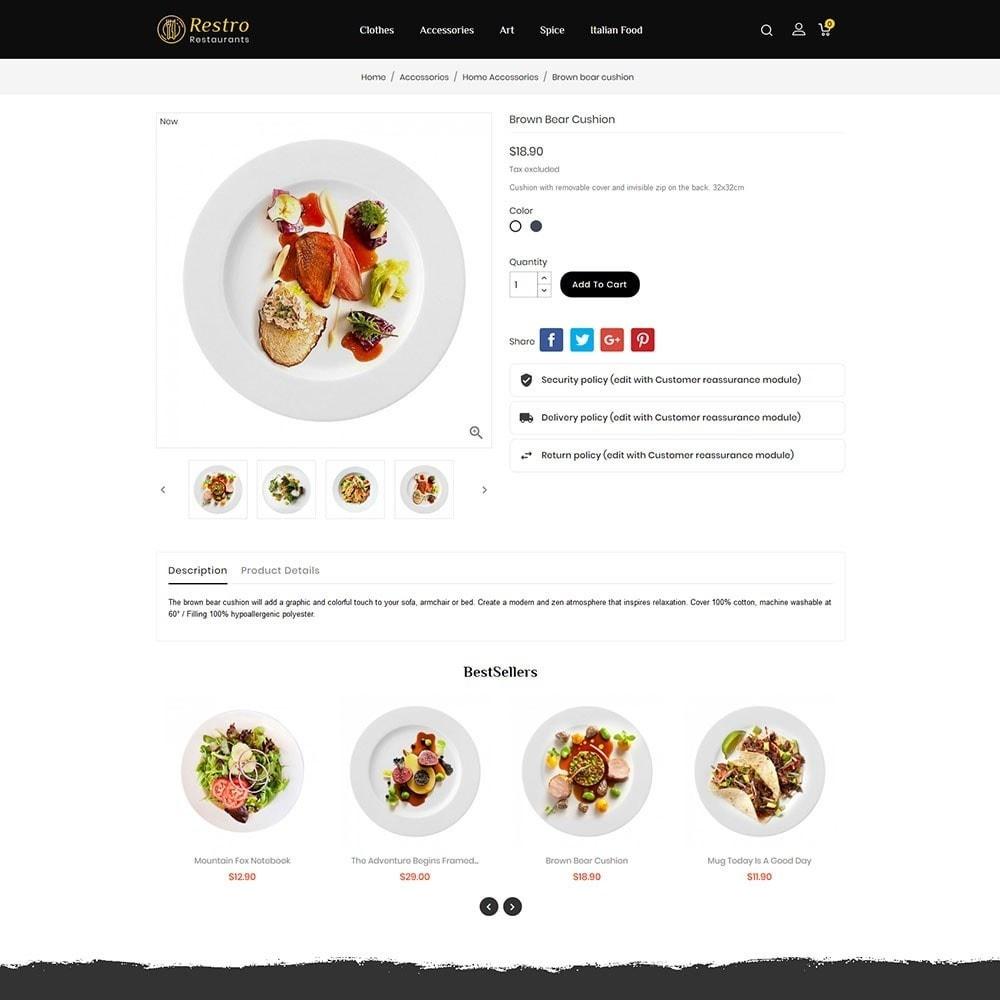 theme - Alimentos & Restaurantes - Restro Restaurant - 5
