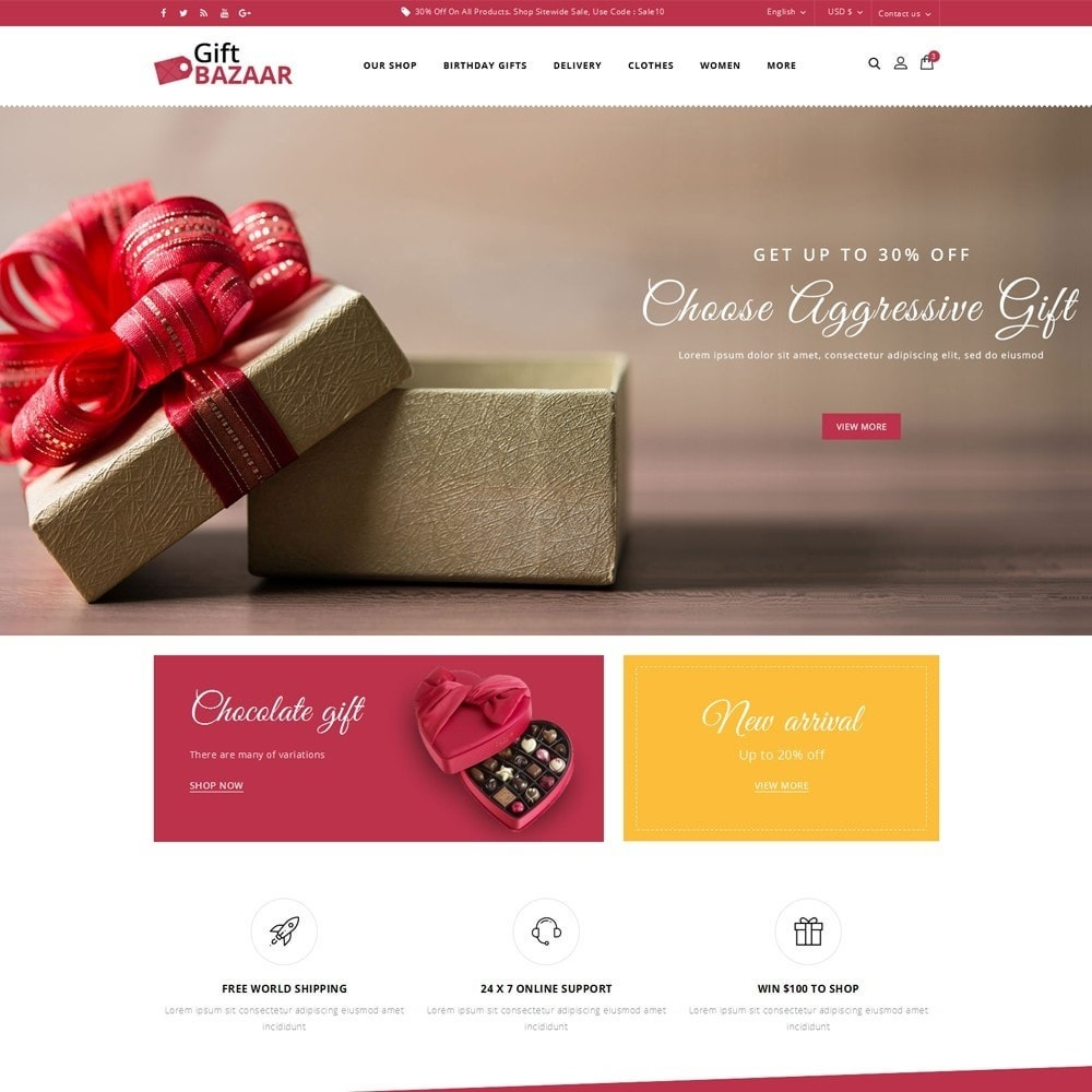 theme - Gifts, Flowers & Celebrations - Gift Bazaar - The Gift Shop - 2