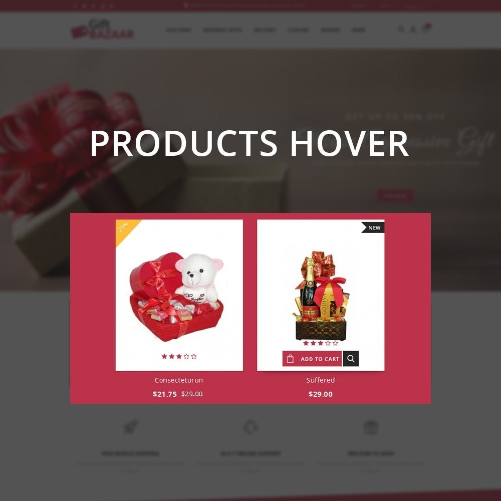 theme - Gifts, Flowers & Celebrations - Gift Bazaar - The Gift Shop - 11