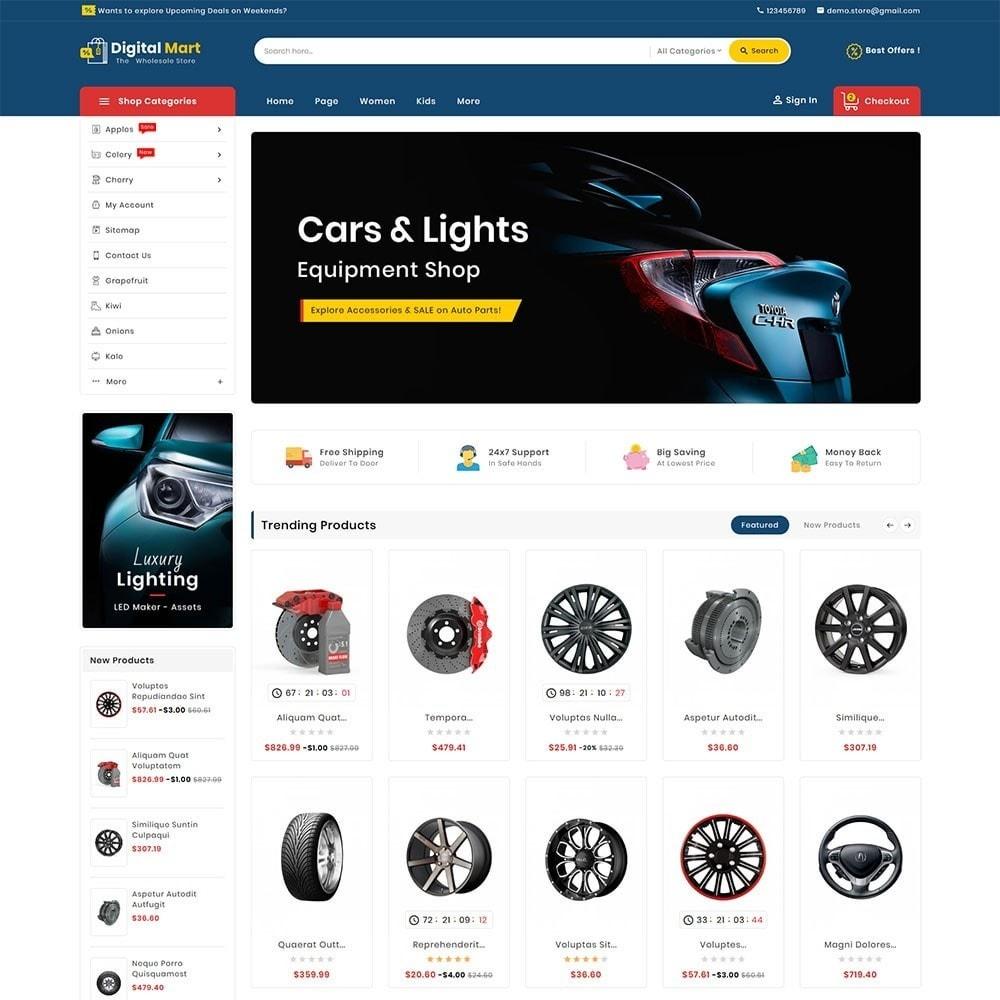 theme - Auto & Moto - Digital Mart Auto Parts - 2