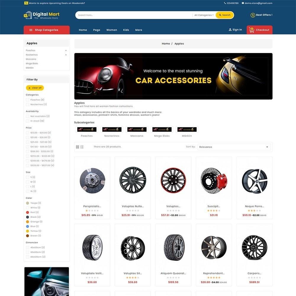 theme - Auto & Moto - Digital Mart Auto Parts - 4