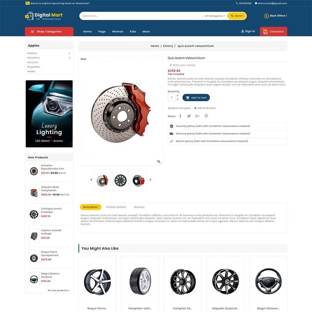 theme - Auto & Moto - Digital Mart Auto Parts - 6