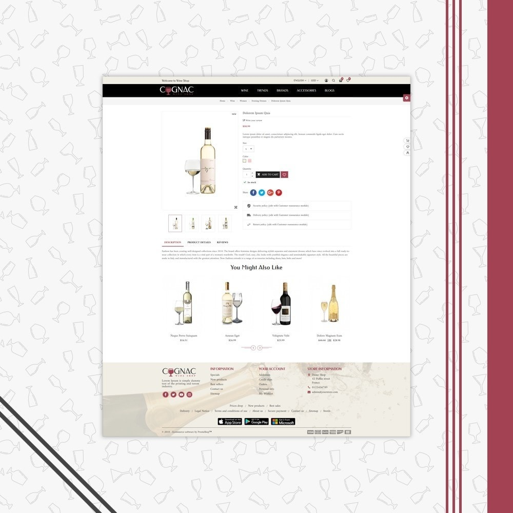 theme - Drink & Tobacco - Wine Store - 4