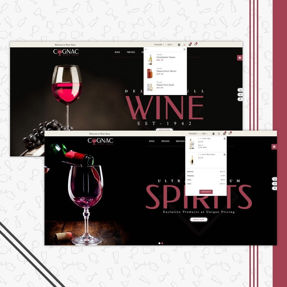 theme - Drink & Tobacco - Wine Store - 7