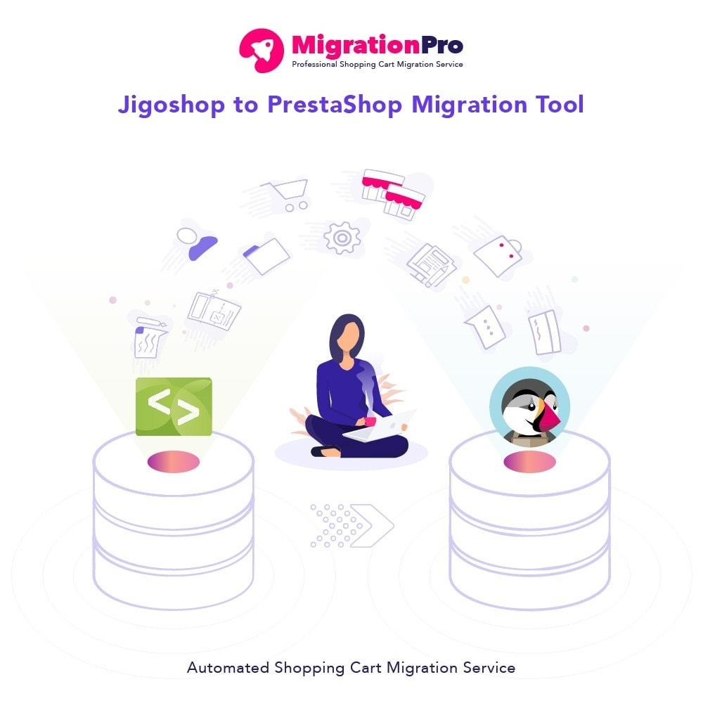 module - Migracja & Backup - MigrationPro: Jigoshop to PrestaShop Migration tool - 1