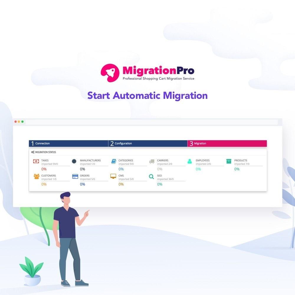 module - Migracja & Backup - MigrationPro: Jigoshop to PrestaShop Migration tool - 5