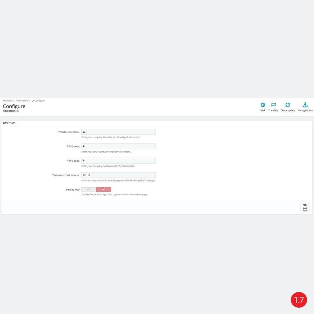 module - Альтернативных способов оплаты - Findomestic - 4