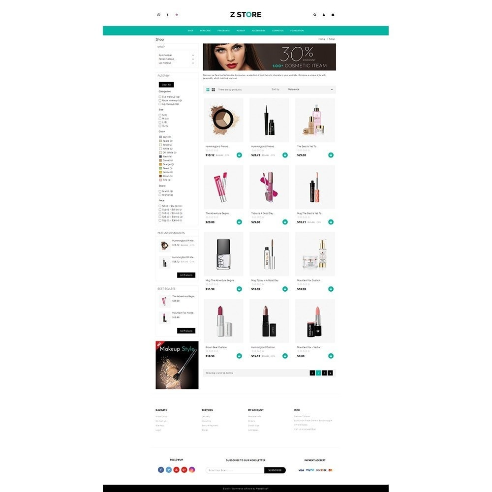 theme - Saúde & Beleza - Fashion Z-Store - 3
