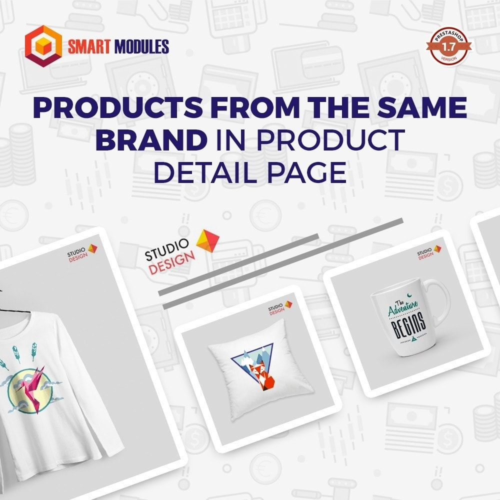 module - Cross-Selling & Produktbundles - Products by the same brand - 1