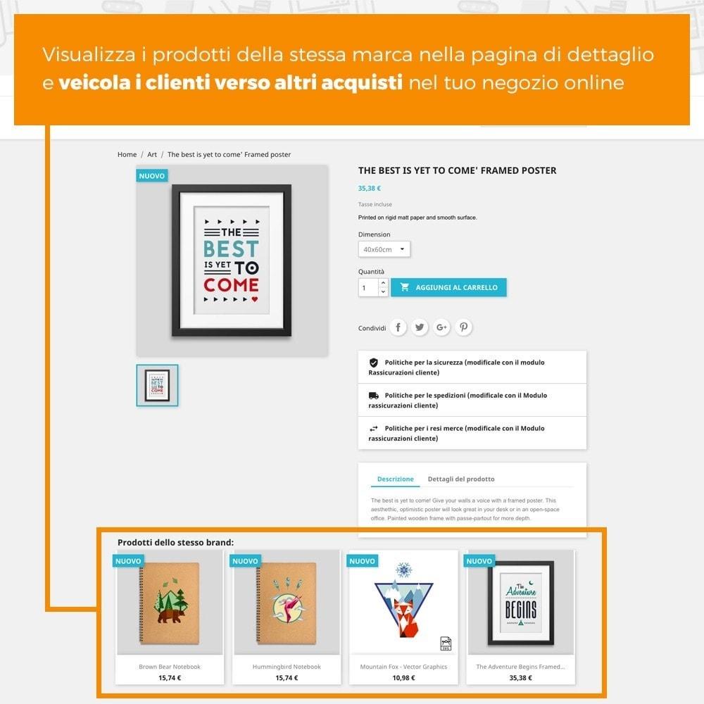 module - Cross-selling & Product Bundle - Prodotti della stessa marca - 2