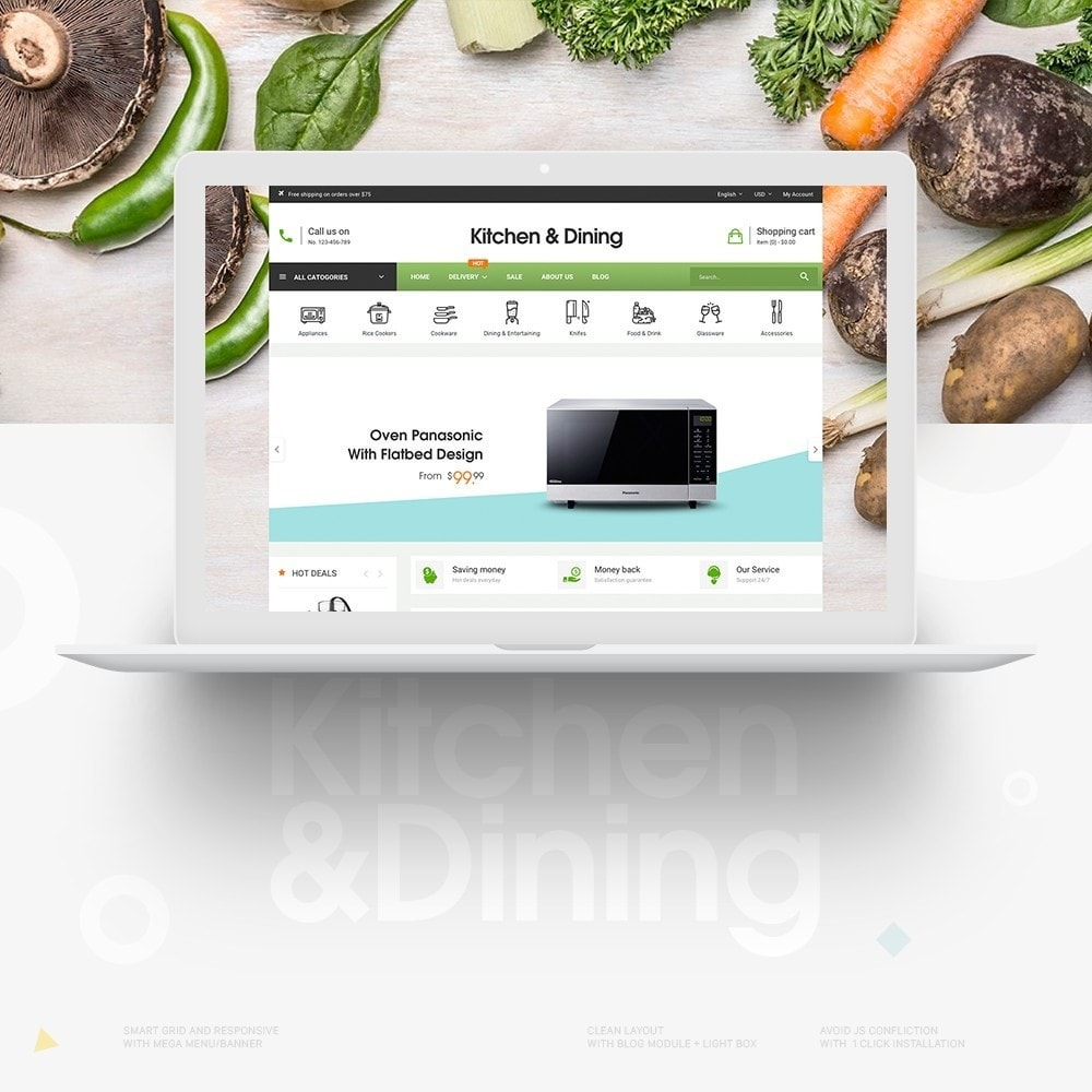 theme - Home & Garden - Kitchen & Dining Store - 1