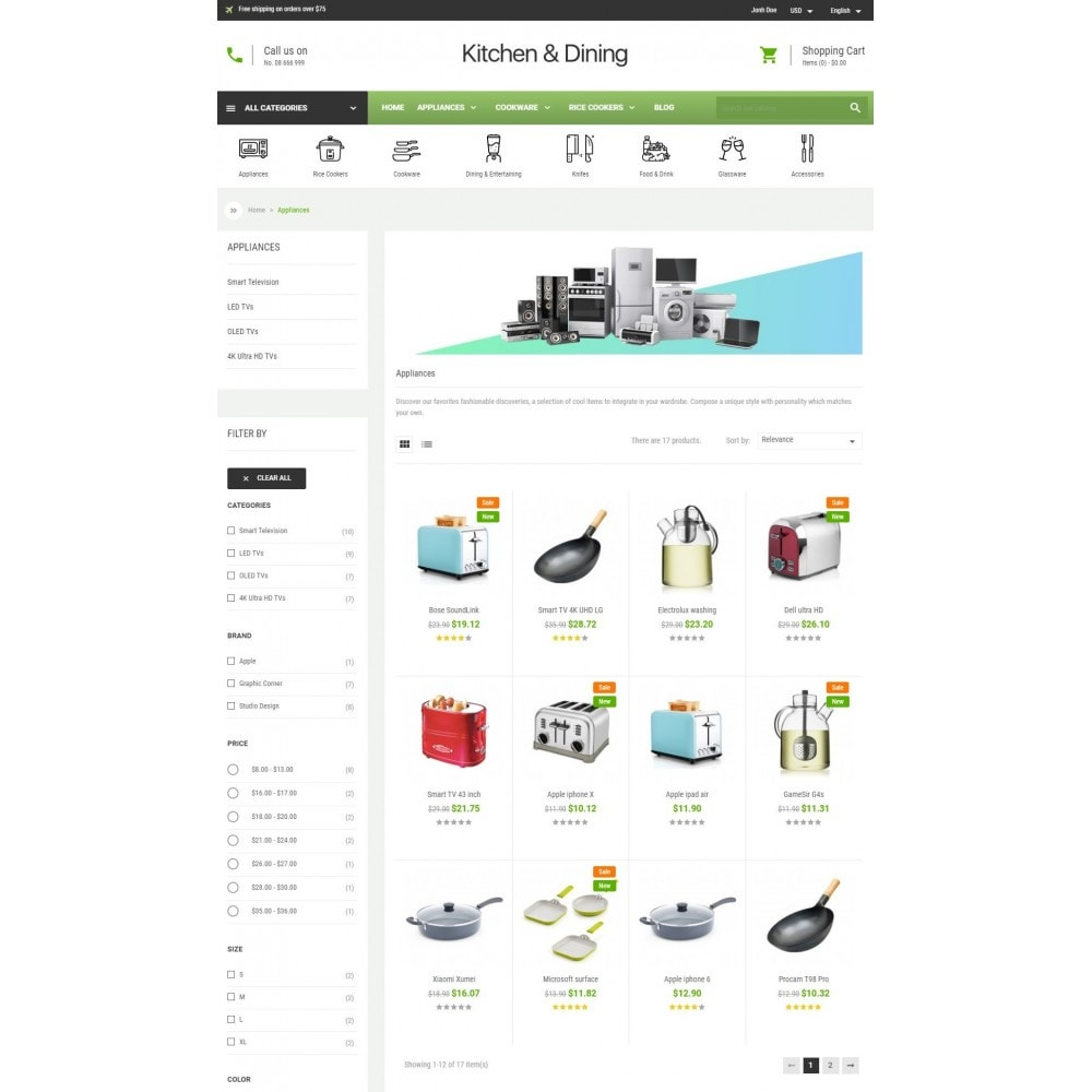 theme - Home & Garden - Kitchen & Dining Store - 3