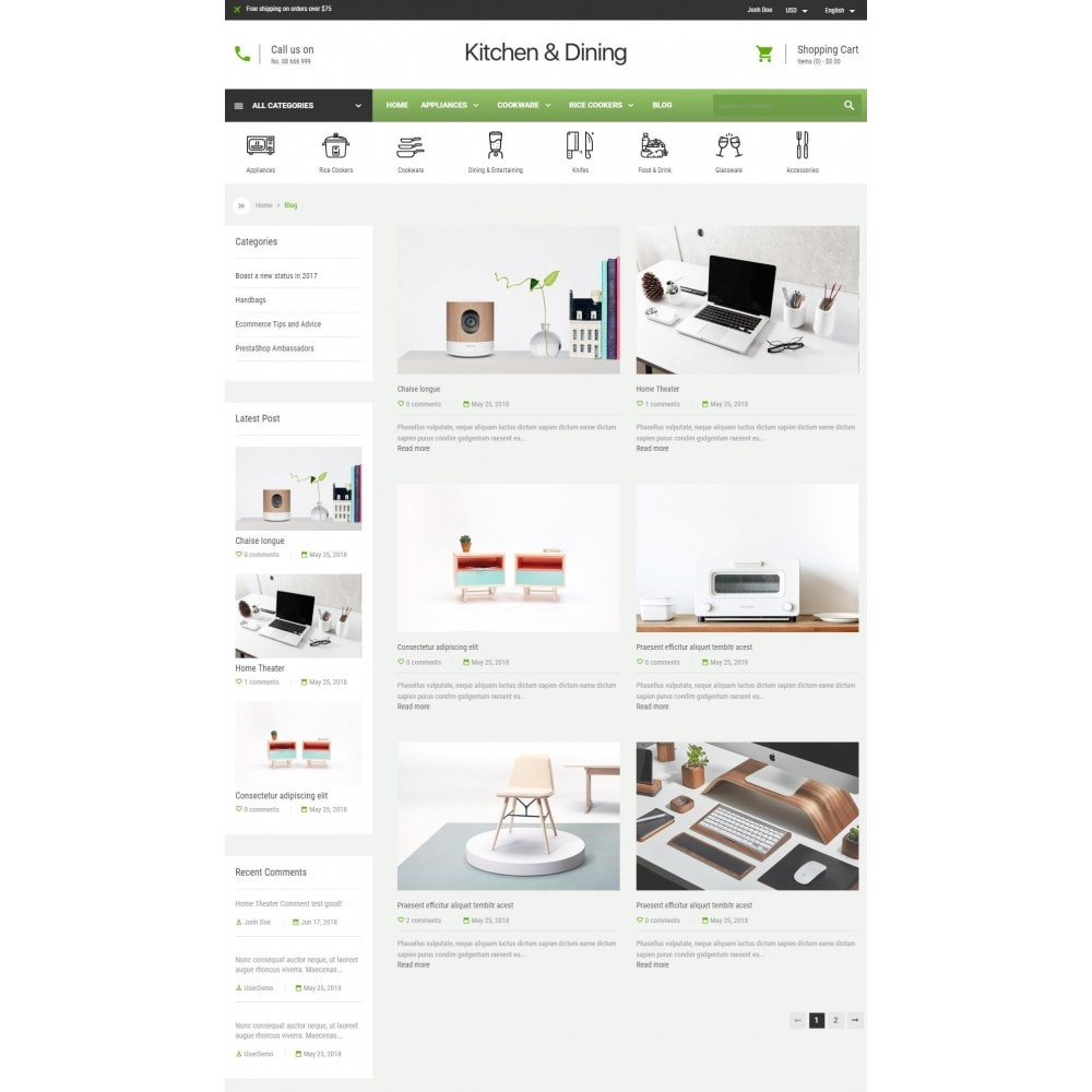 theme - Home & Garden - Kitchen & Dining Store - 5