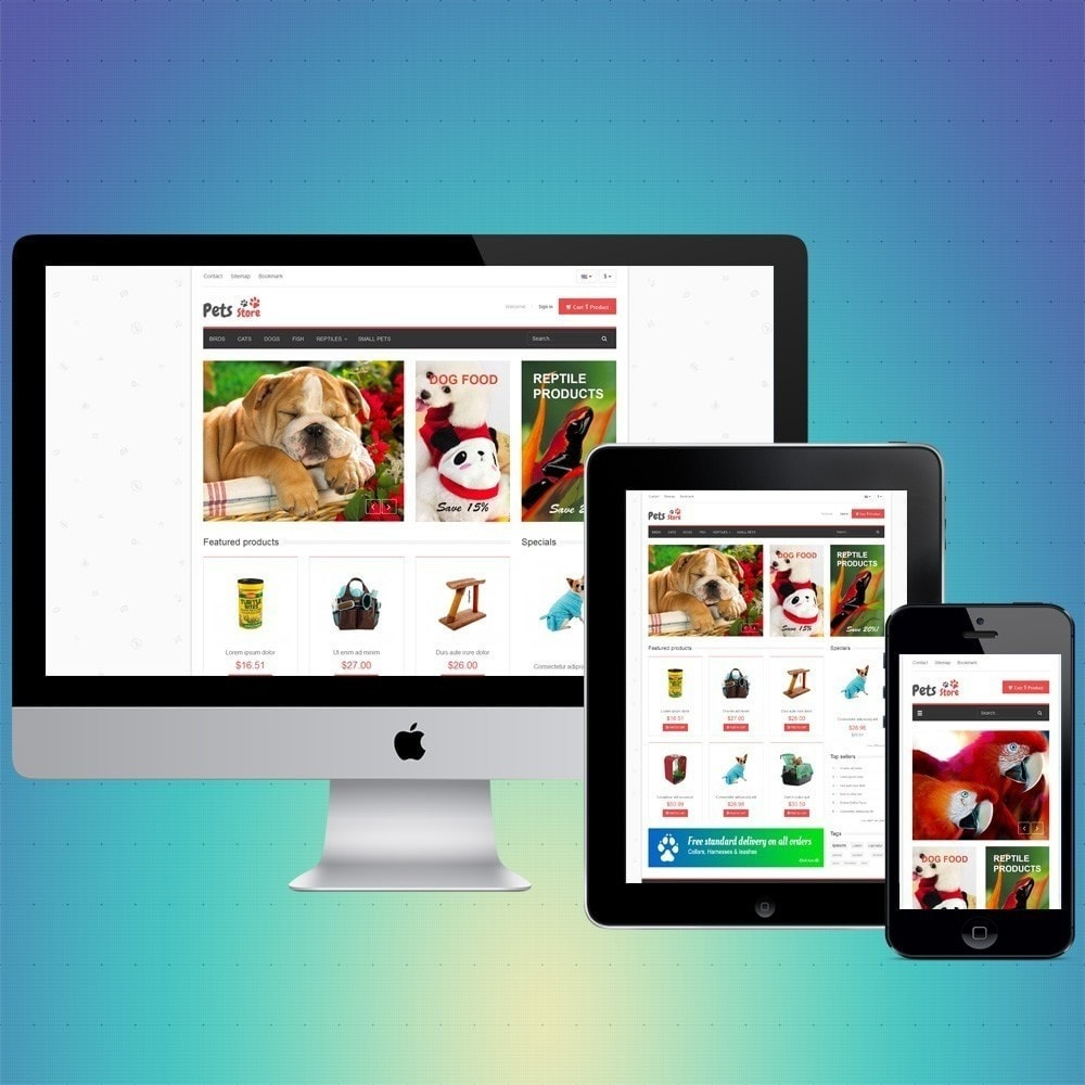 theme - Animaux - VP_Pets Store - 1