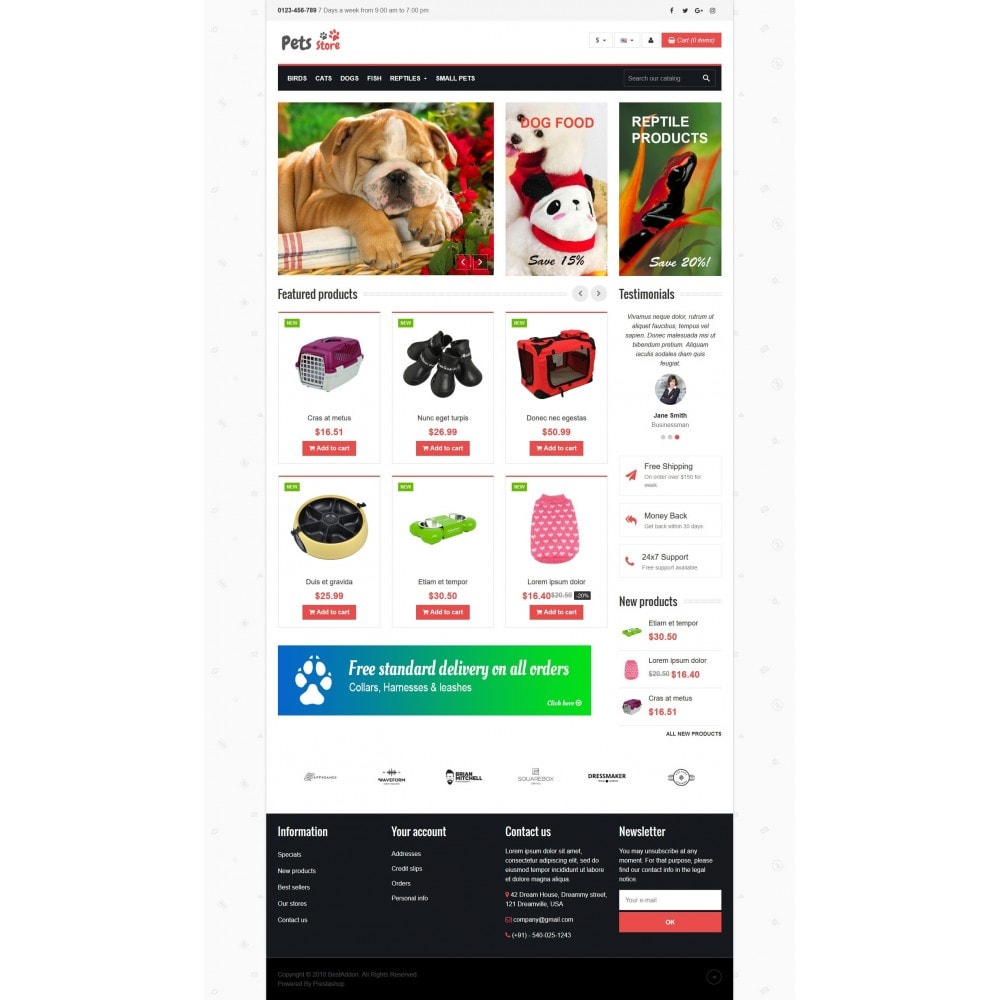 theme - Animaux - VP_Pets Store - 2