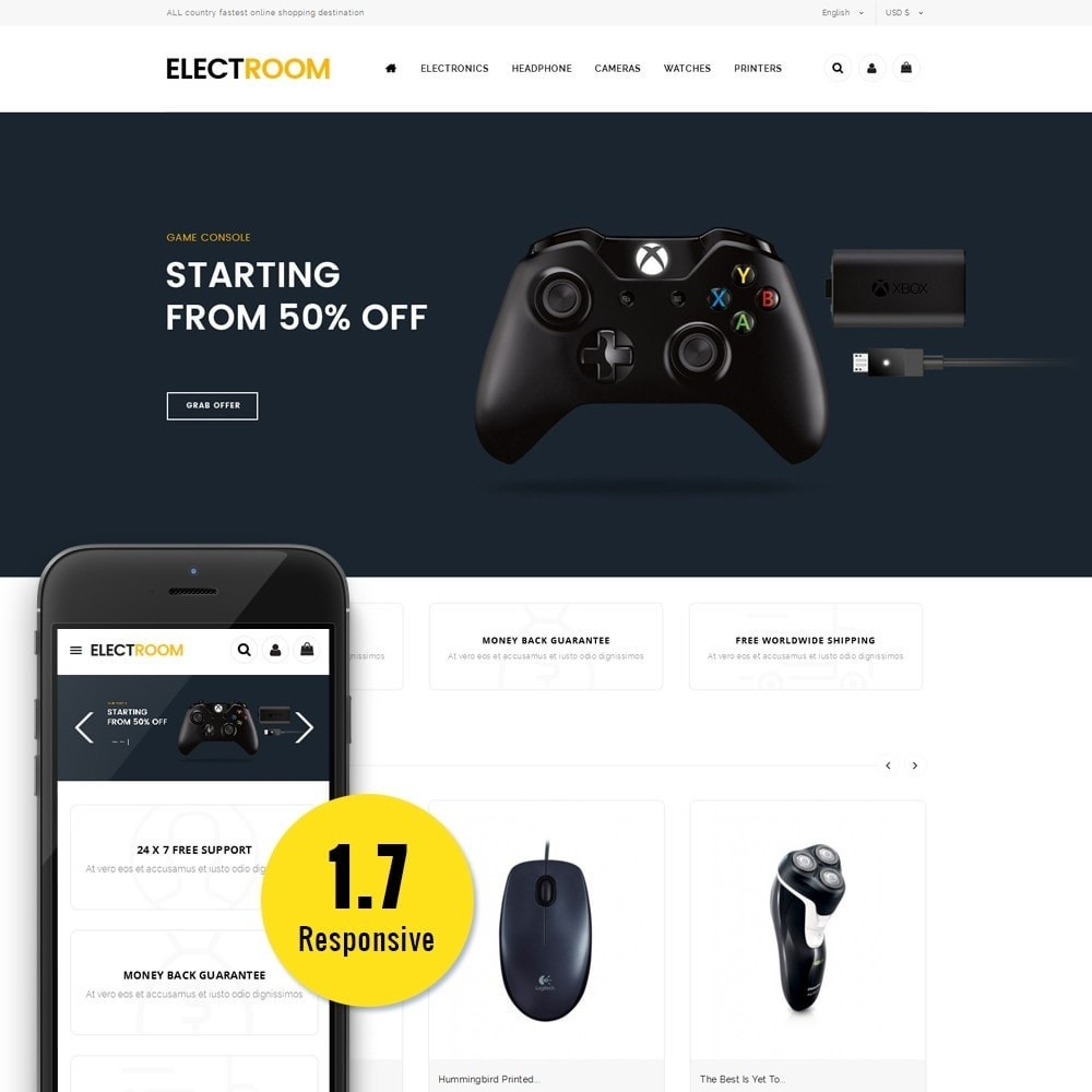 theme - Electronics & Computers - Electroom Electronics Store - 1