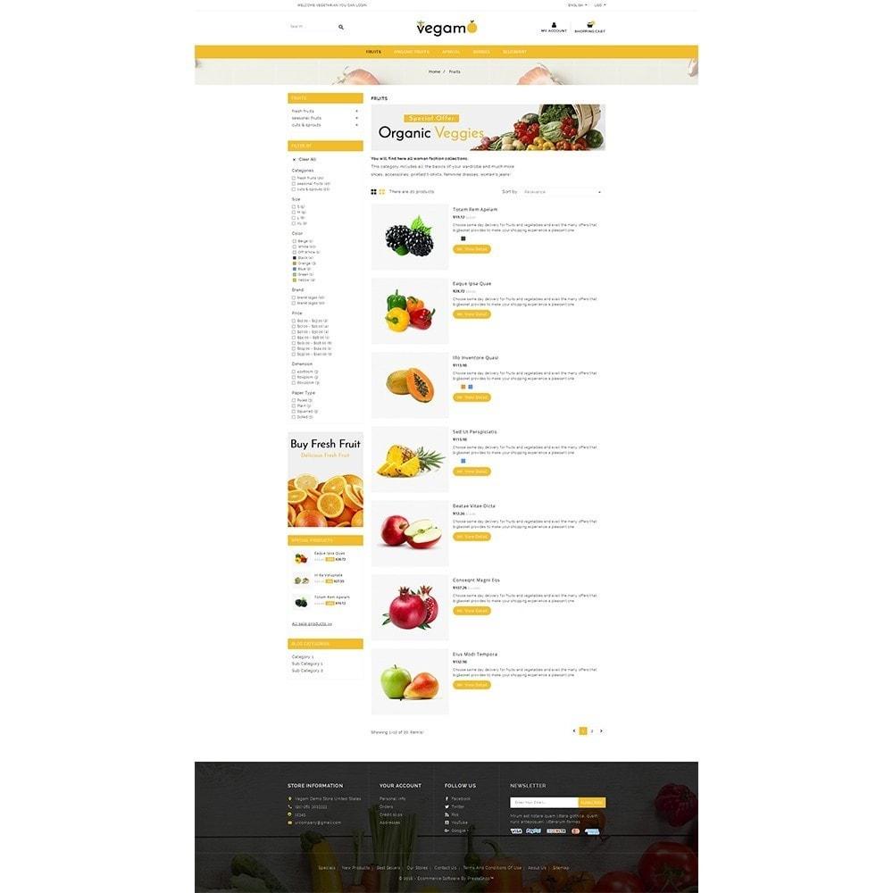 theme - Alimentation & Restauration - Vegam Store - 4