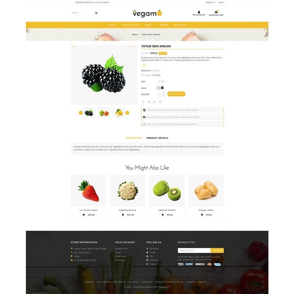 theme - Alimentation & Restauration - Vegam Store - 5