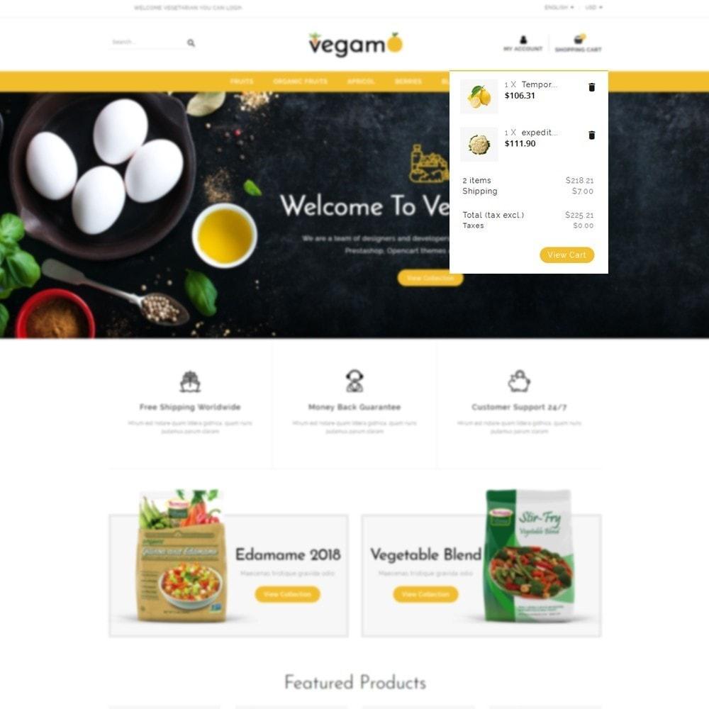 theme - Alimentation & Restauration - Vegam Store - 8