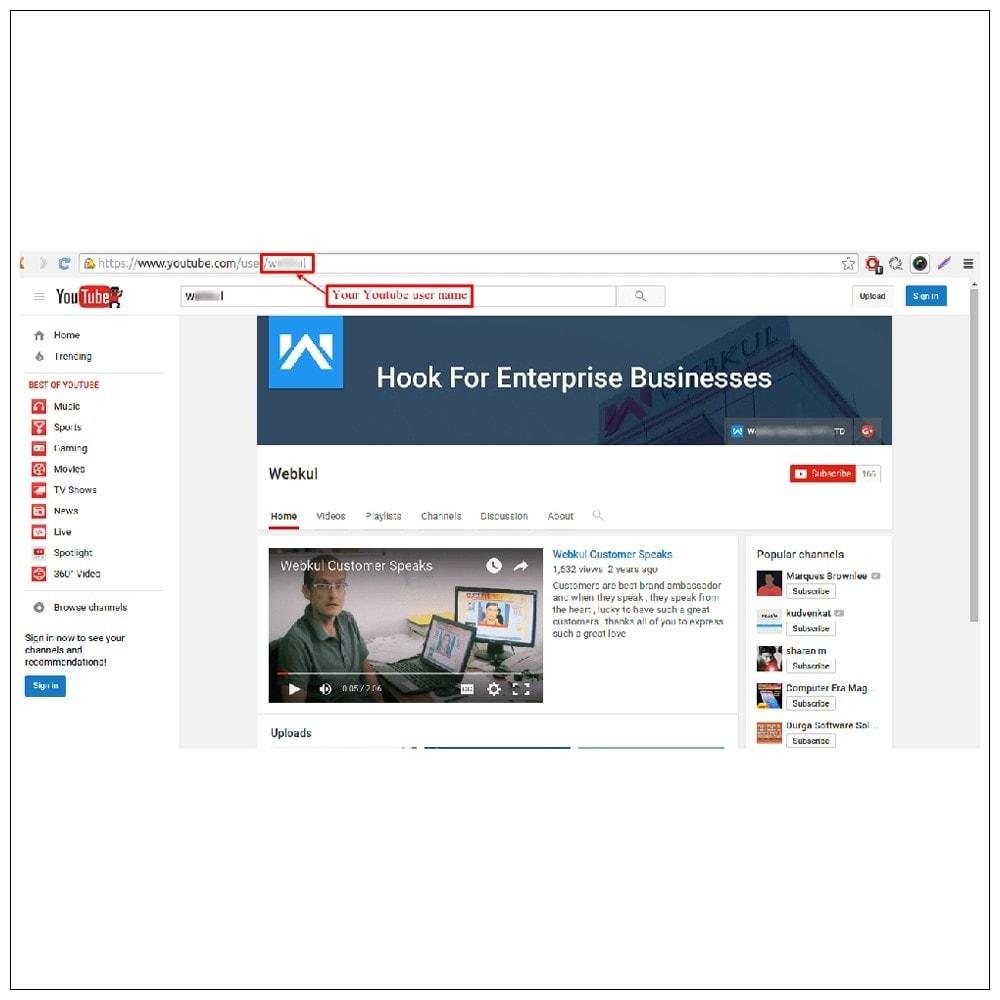 module - Видеоролики и Музыка - Youtube Feeds - 14