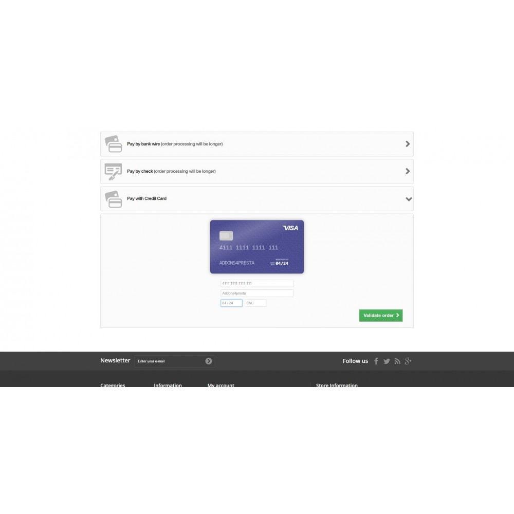 module - Pagamento por cartão ou por carteira - Moneris Online Payments - 5