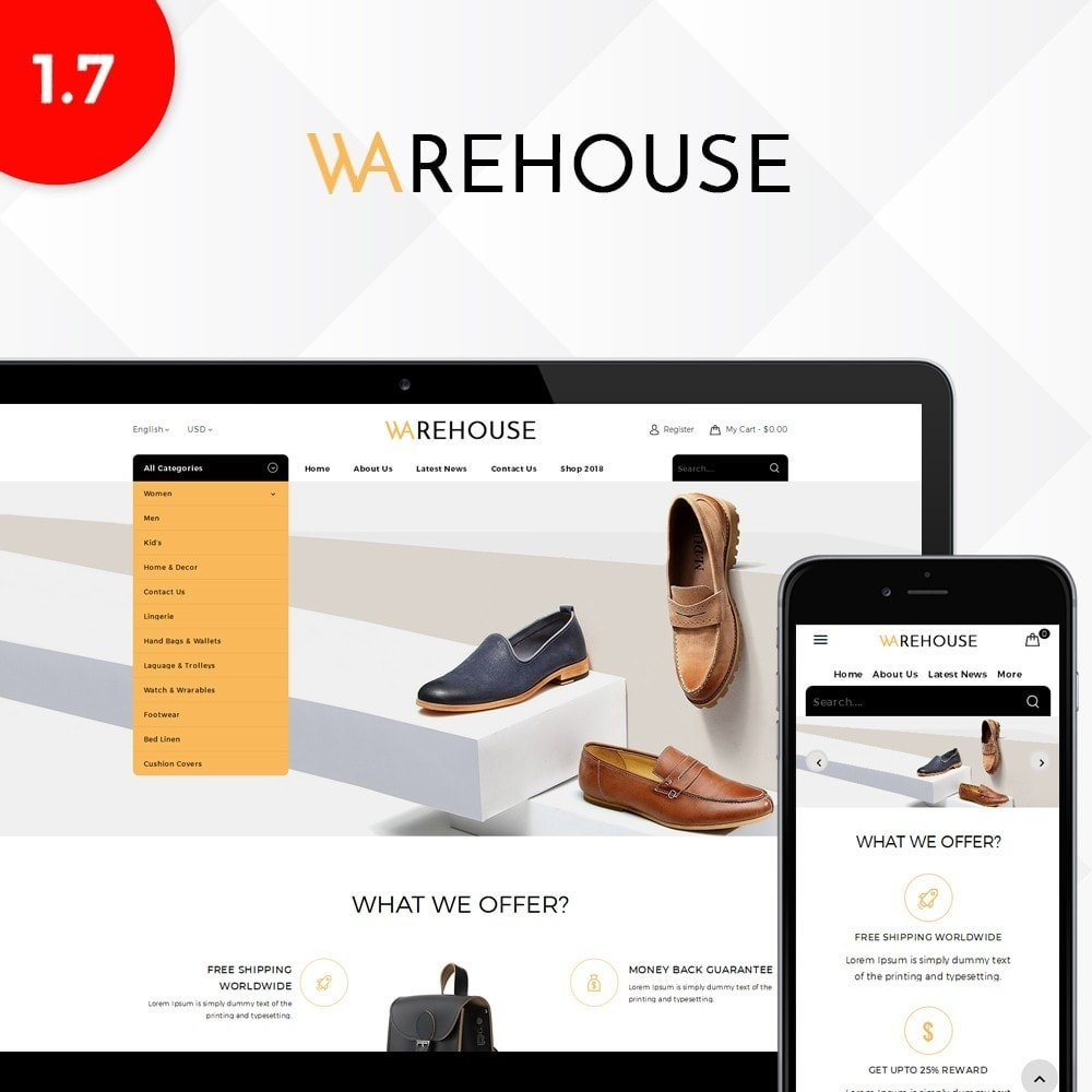theme - Mode & Chaussures - Warehouse Store - 1