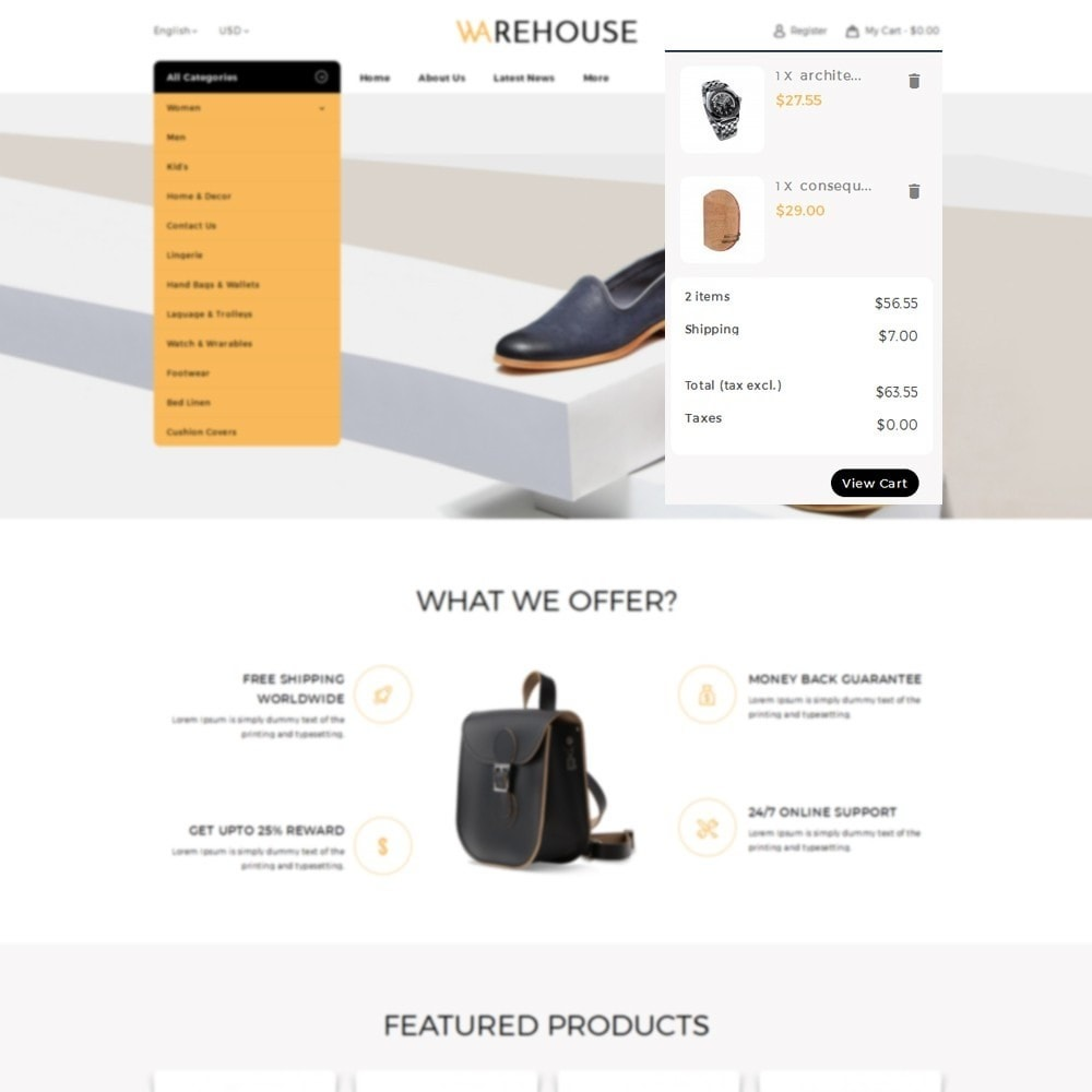 theme - Mode & Chaussures - Warehouse Store - 7