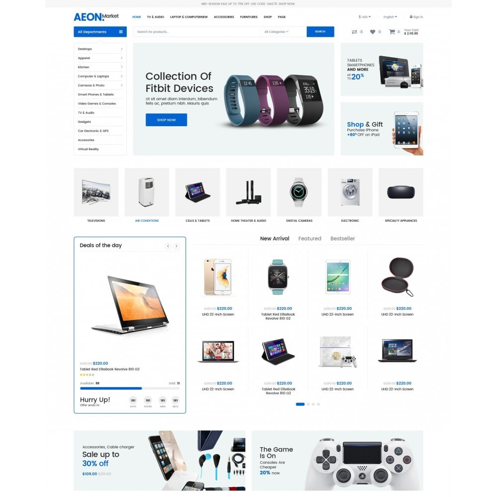 theme - Electronique & High Tech - AeonMarket Electronic Store - 2