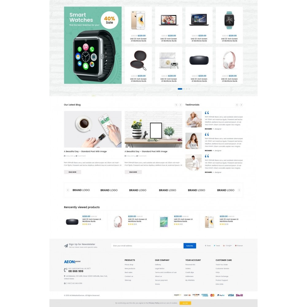 theme - Electronique & High Tech - AeonMarket Electronic Store - 4
