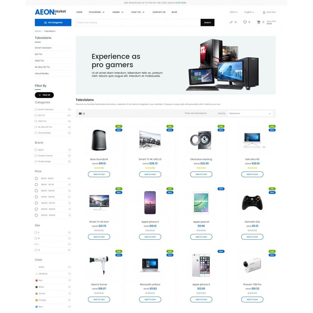 theme - Electronique & High Tech - AeonMarket Electronic Store - 5