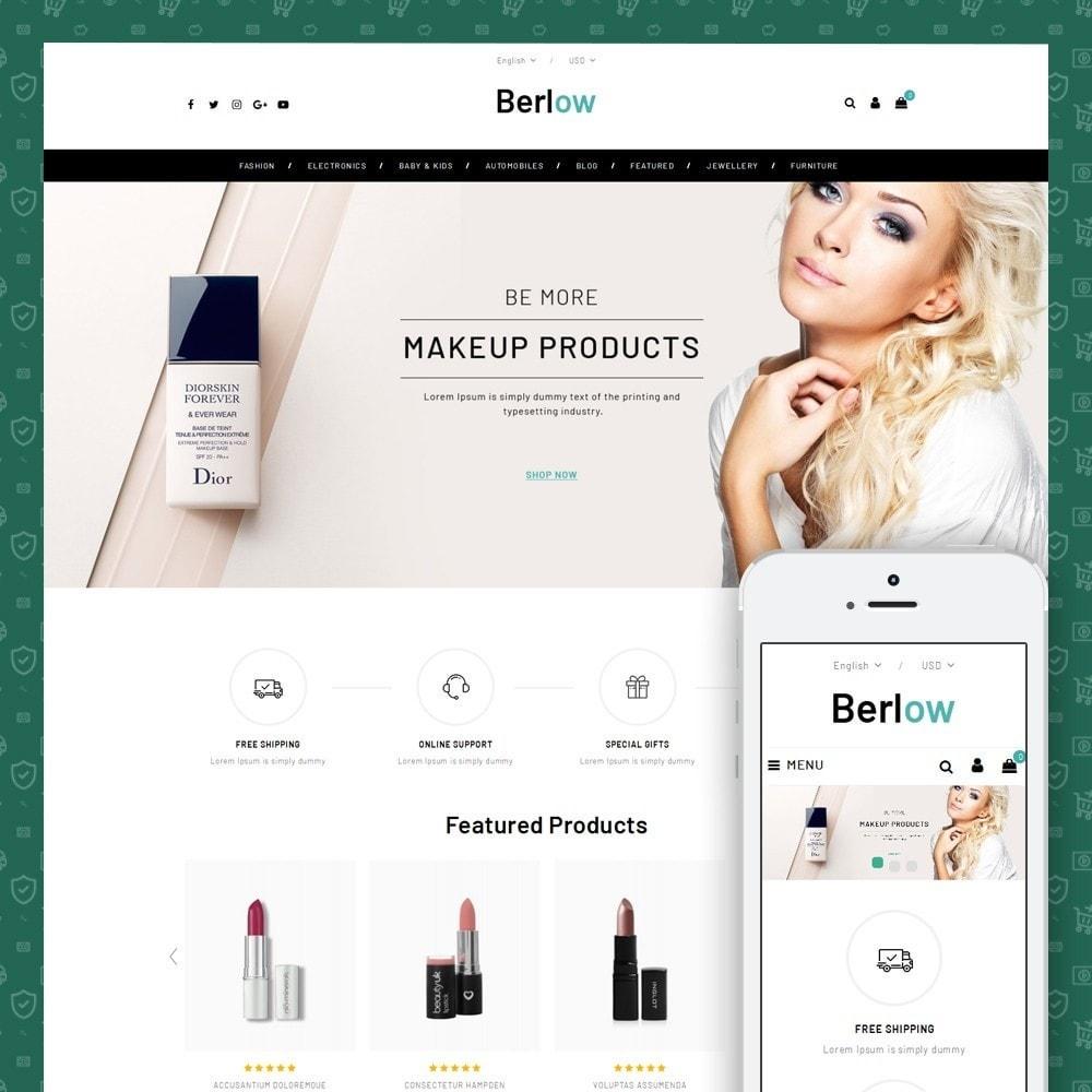 theme - Health & Beauty - Berlow - Beauty Store - 1