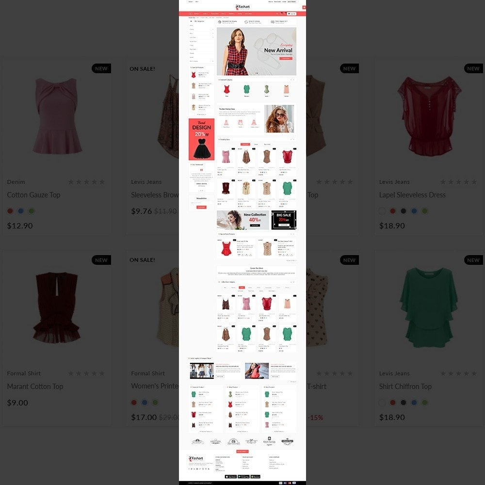 theme - Fashion & Shoes - The Fashart –Fashion Mega Shop - 2