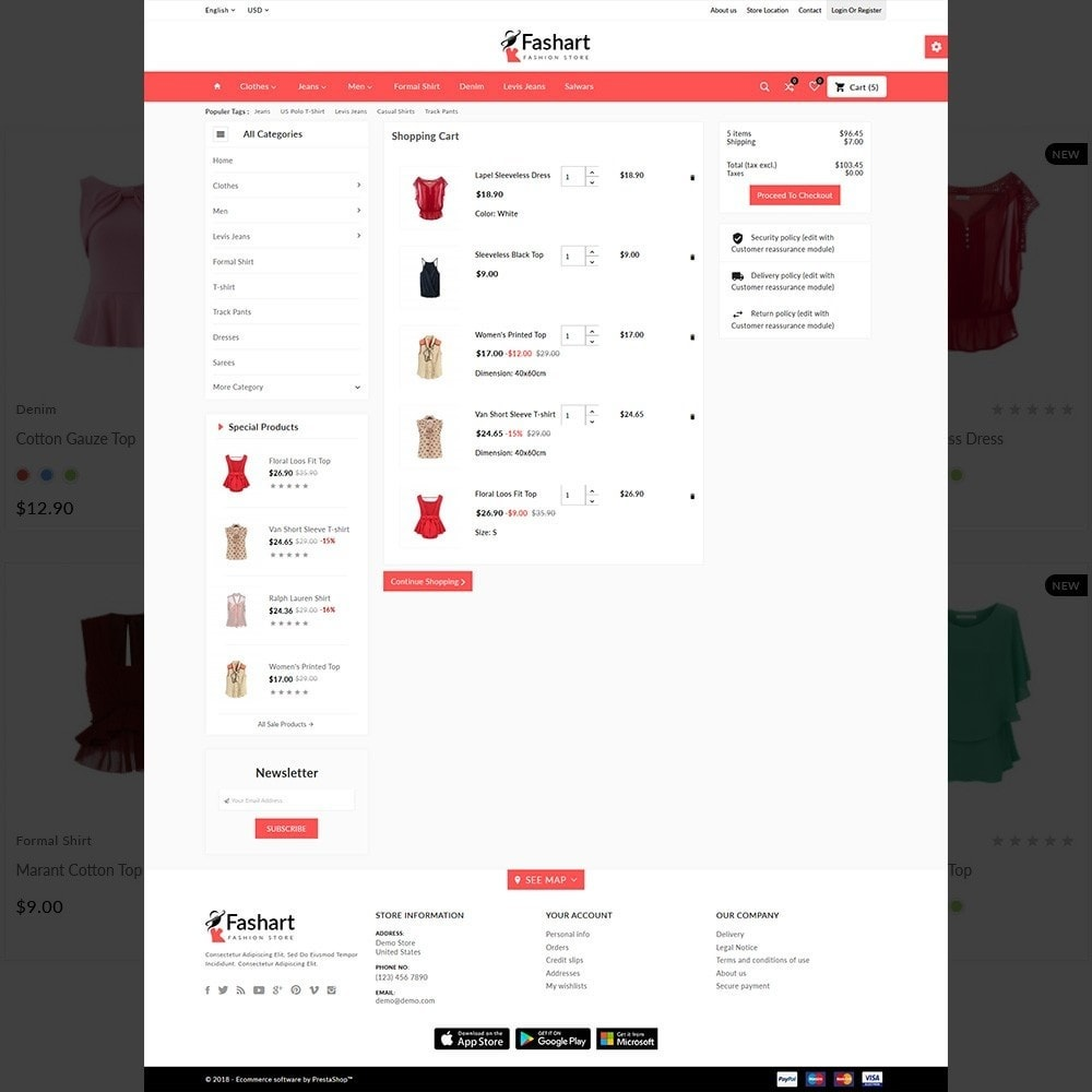 theme - Fashion & Shoes - The Fashart –Fashion Mega Shop - 4