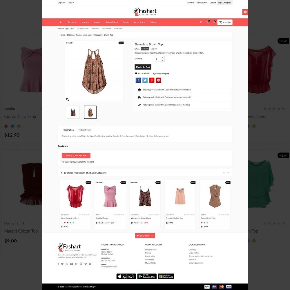 theme - Fashion & Shoes - The Fashart –Fashion Mega Shop - 5